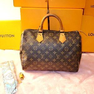 Speedy 30 Louis Vuitton Bag